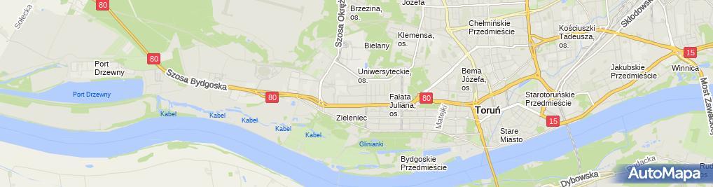 Zdjęcie satelitarne Piotr Błaszkiewicz