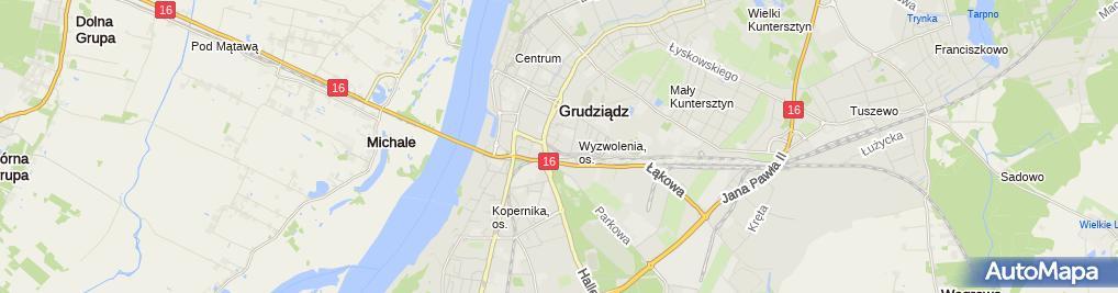 Zdjęcie satelitarne Piotr Dekarczyk - Działalność Gospodarcza