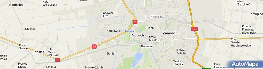 Zdjęcie satelitarne Piotr Jaguszewski - Działalność Gospodarcza