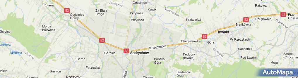 Zdjęcie satelitarne Piotr Jamróz - Działalność Gospodarcza