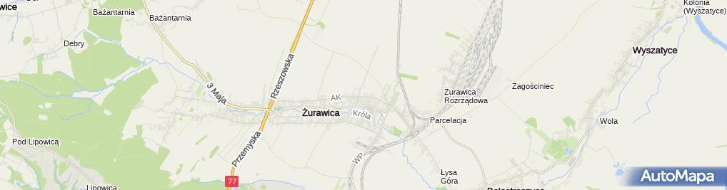 Zdjęcie satelitarne Piotr Szczypel - Działalność Gospodarcza
