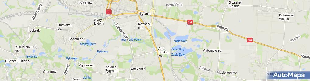 Zdjęcie satelitarne Piotr Twardokęs - Działalność Gospodarcza