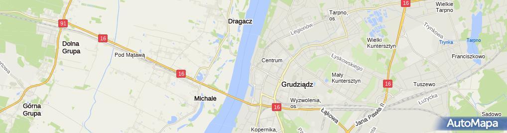 Zdjęcie satelitarne Piotr Zielaskowski - Działalność Gospodarcza