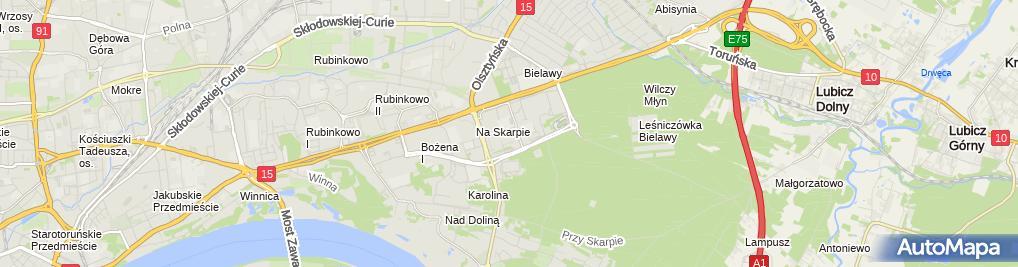 Zdjęcie satelitarne Pitura Tadeusz Extruder Przedsiębiorstwo Usługowo Handlowe