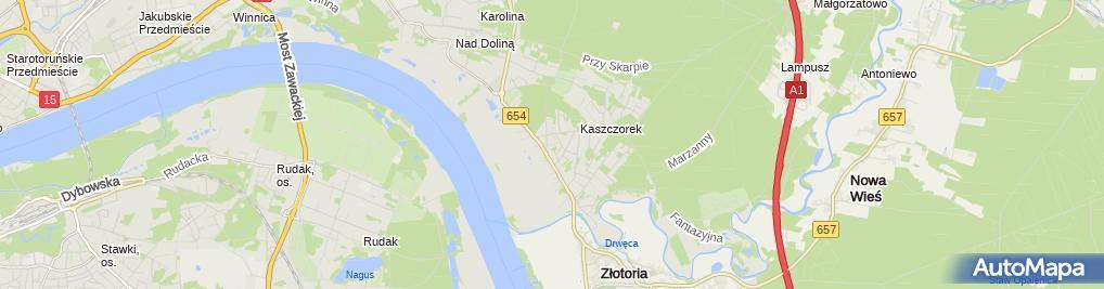 Zdjęcie satelitarne Plano It Consulting Jacek Markiewicz