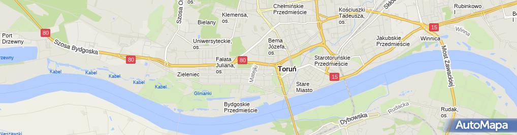 Zdjęcie satelitarne Plener Paweł Kalemba