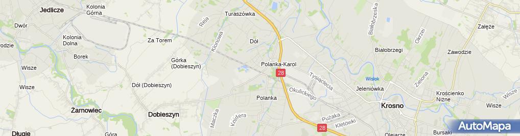 Zdjęcie satelitarne pod Grzybkiem