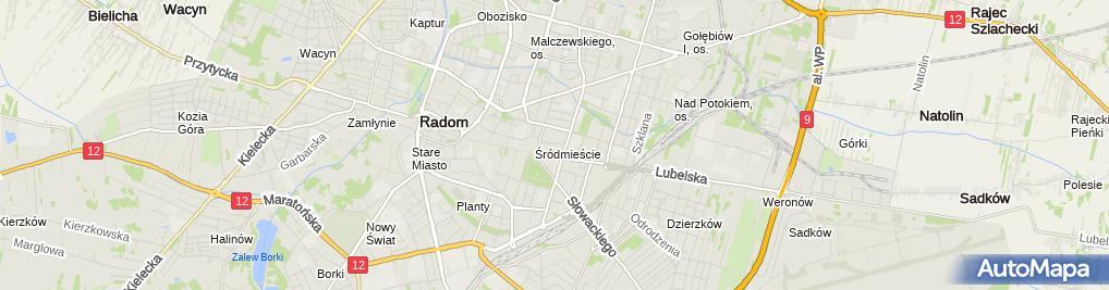 Zdjęcie satelitarne Pokusa Andrzej Lenaal