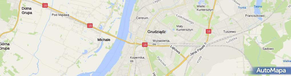 Zdjęcie satelitarne Polbat Marzenna Trochowska