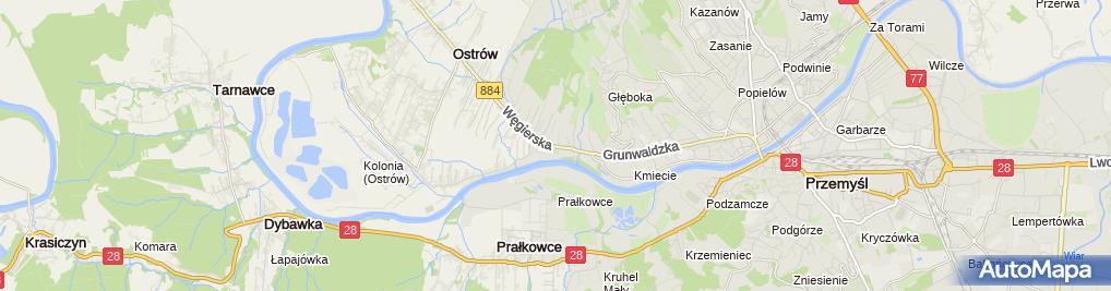Zdjęcie satelitarne Polbike