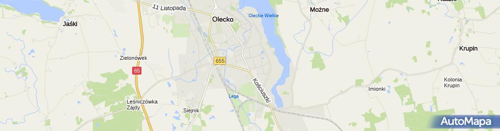 Zdjęcie satelitarne Polsko Francuska Spółka L L M Eficas