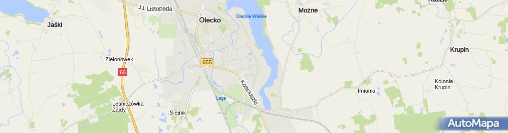 Zdjęcie satelitarne Pomoc Społeczna Grażyna Olszewska