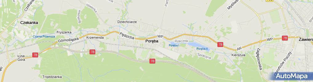 Zdjęcie satelitarne Pośrednictwo Finansowe Ewelina Cecugowicz-Minge