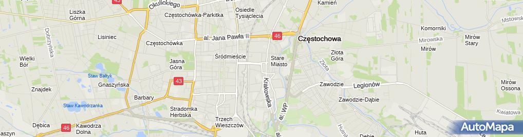 Zdjęcie satelitarne Pośrednictwo Finansowe Oskar
