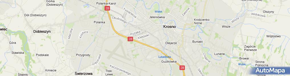 Zdjęcie satelitarne Pośrednictwo Gospodarcze Pisarski Franciszek & Bukowczyk Joanna