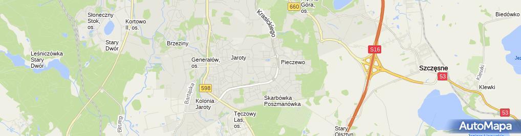 Zdjęcie satelitarne Pośrednictwo Ubezpieczeniowe Władysław Kułdo
