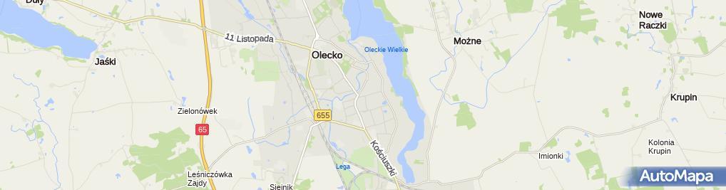 Zdjęcie satelitarne PPHU Welda Waldemar Kośiński