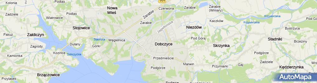 Zdjęcie satelitarne Pracownia Cukiernicza Kajtuś Piotr Kurzawa