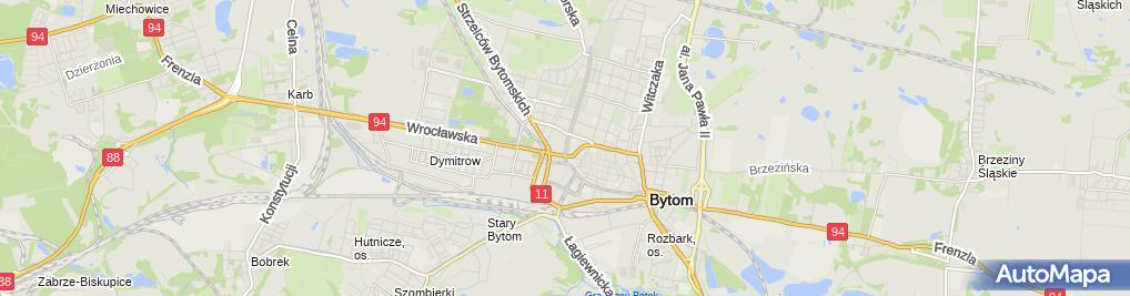 Zdjęcie satelitarne Pracownia Gorsetów Klink Krystyna