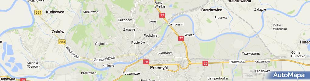 Zdjęcie satelitarne Pracownia Protetyczna Kamila Strzałkowska-Wojdyła