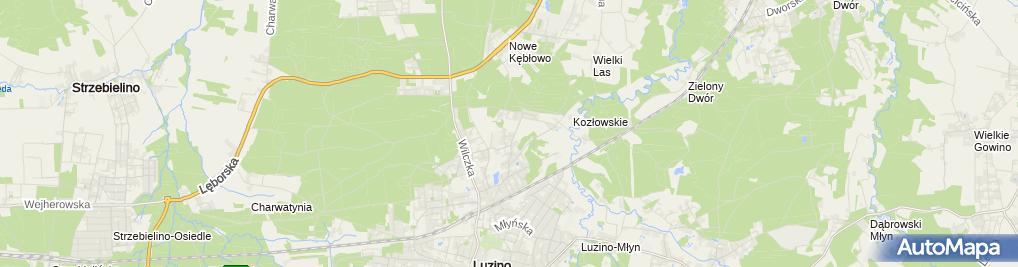 Zdjęcie satelitarne Pracownia Stomatologiczna Roman Szybczyński