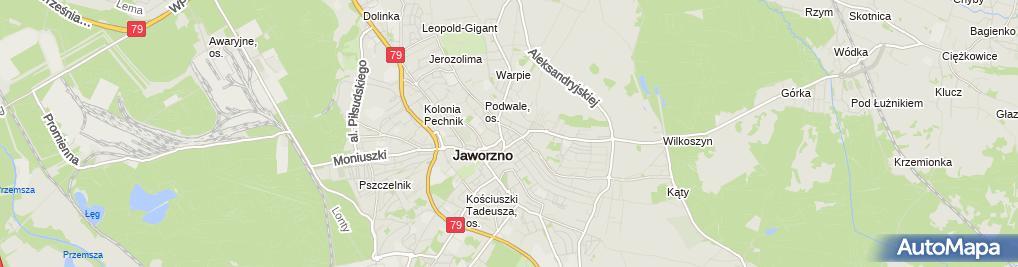 Zdjęcie satelitarne Pracownia Tapicerska Divani Design Rafał Loch