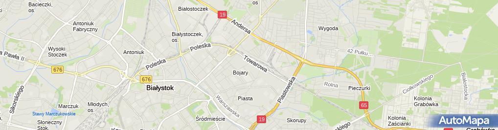 Zdjęcie satelitarne Pracownia Techniki Dentystycznej Wiesław Kurnicki