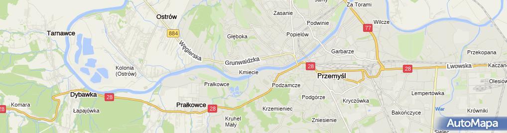 Zdjęcie satelitarne Praktyka Lekarska Na Wezwanie Jakub Trzmielewski