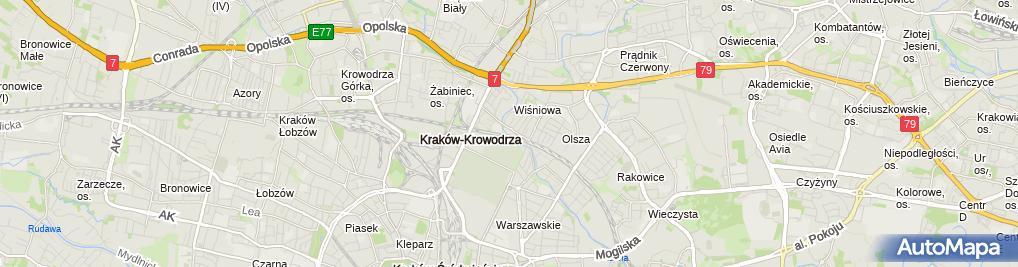 Zdjęcie satelitarne Precia Polska sp. z o.o.