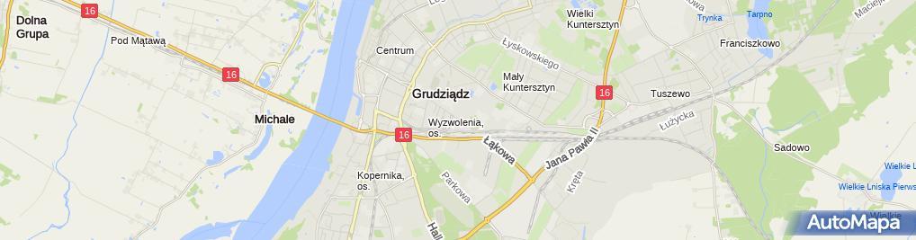 Zdjęcie satelitarne Prima Edyta Pyszora