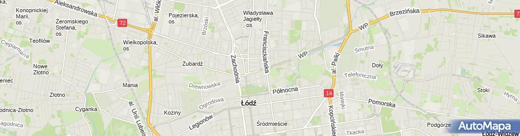 Zdjęcie satelitarne Print Service