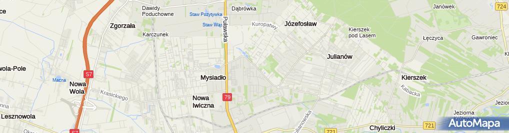 Zdjęcie satelitarne Profin Agata Chrzanowska