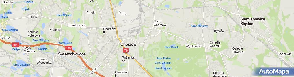 Zdjęcie satelitarne Proinwestbud Kluba Łukasz
