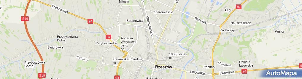 Zdjęcie satelitarne Projektowe Usługi Budowlane