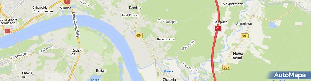 Zdjęcie satelitarne Promar Ryszard Krzeczkowski