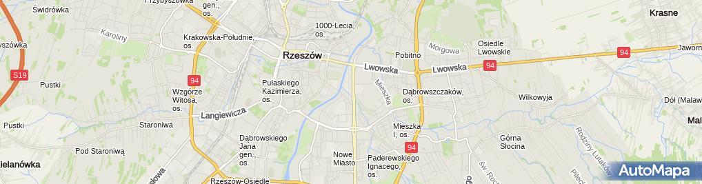 Zdjęcie satelitarne Pronet Bogusław Cieśla