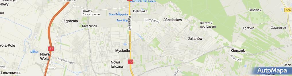 Zdjęcie satelitarne Prospekt
