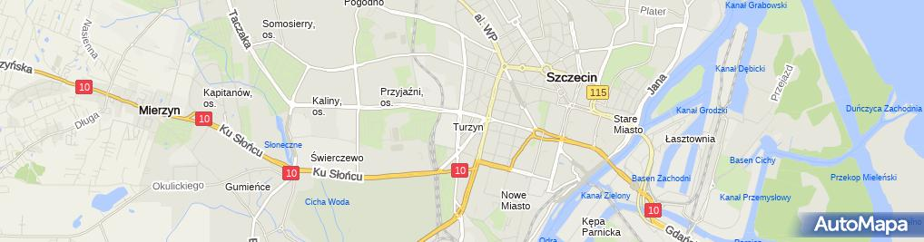 Zdjęcie satelitarne Prozped Consulting