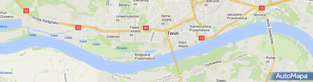 Zdjęcie satelitarne Prywatna Pracownia Eeg Lasińska