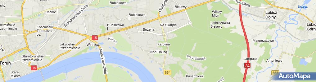 Zdjęcie satelitarne Prywatna Praktyka Lekarska Lekarz