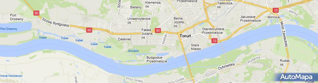 Zdjęcie satelitarne Prywatna Praktyka Lekarska Piotr Kędzierski