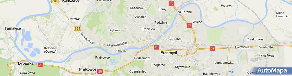 Zdjęcie satelitarne Prywatne Stowarzyszenie Taksówkarzy Kraszewskiego