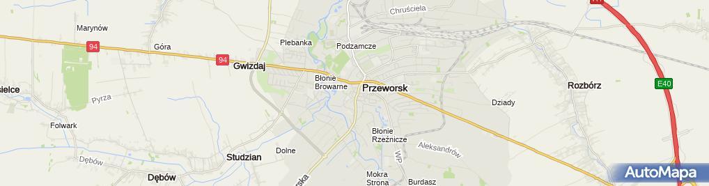 Zdjęcie satelitarne Prywatny Gabinet Lekarski Jerzy Błażejewski