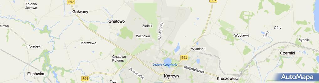 Zdjęcie satelitarne Prywatny Gabinet Lekarski Kozłowska Halina