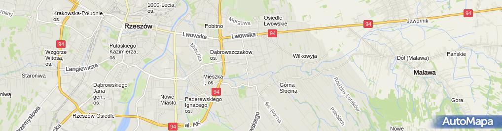 Zdjęcie satelitarne Prywatny Gabinet Lekarski Lek Med Spec Ginekolog Położnik