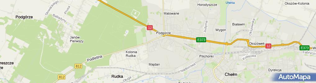 Zdjęcie satelitarne Prywatny Gabinet Lekarski Wiesława Szeląg - Przysucha