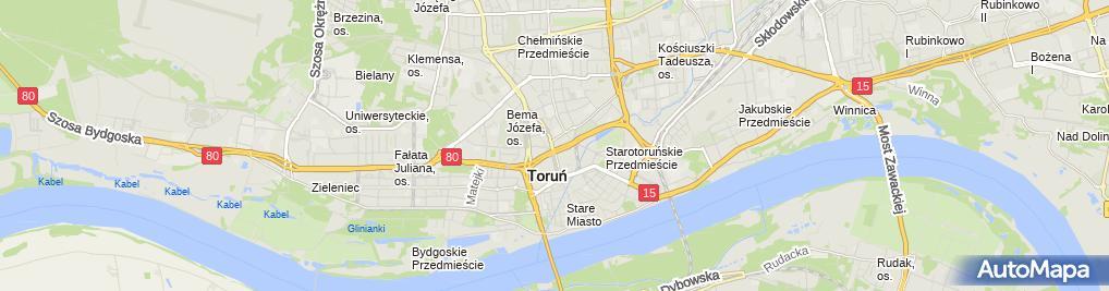 Zdjęcie satelitarne Prywatny Gabinet Lekarski