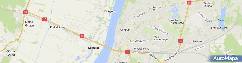 Zdjęcie satelitarne Prywatny Gabinet Okulistyczny Zembrzycka