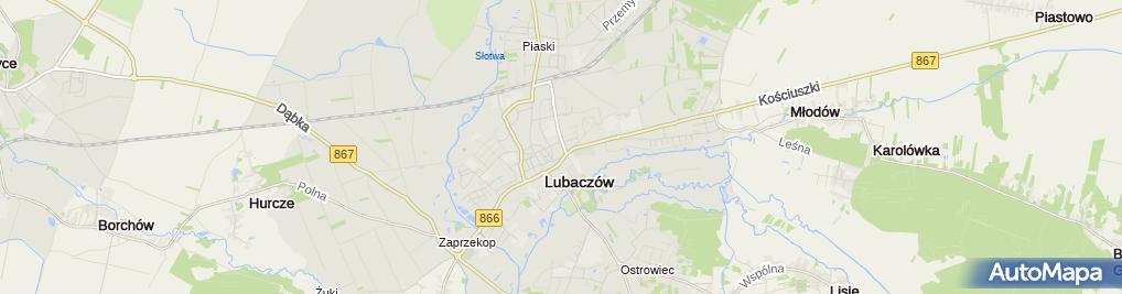 Zdjęcie satelitarne Prywatny Gabinet Pediatryczny Jolanta Rawska