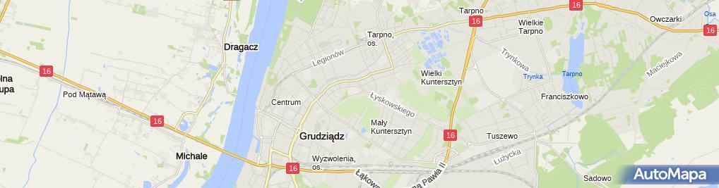 Zdjęcie satelitarne Prywatny Gabinet Pediatryczny